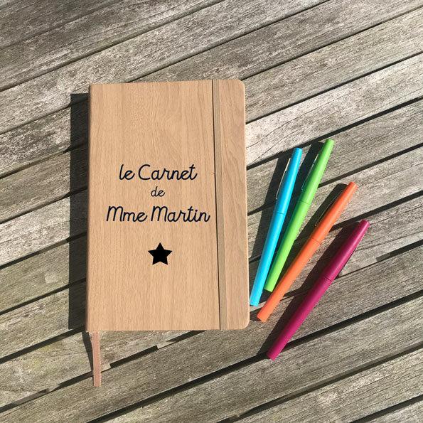 Carnet de Mme Martin