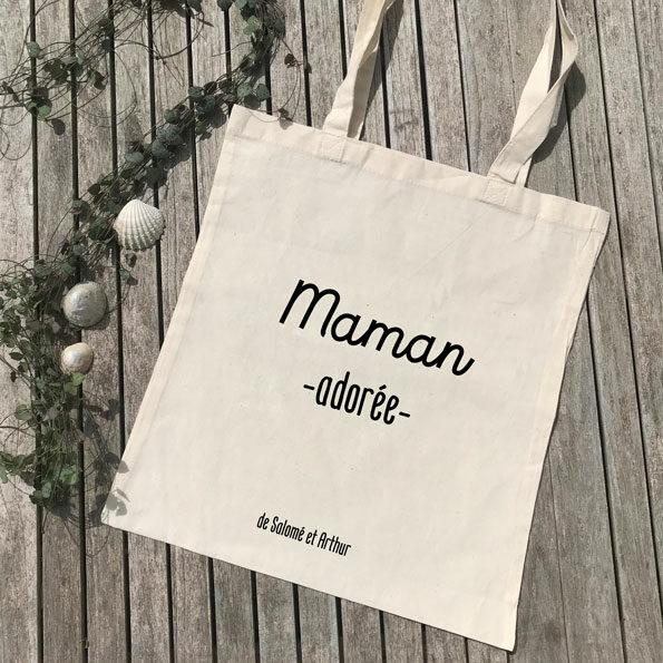 Tote Bag Maman adorée