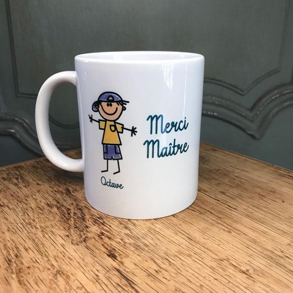 mug merci maitre