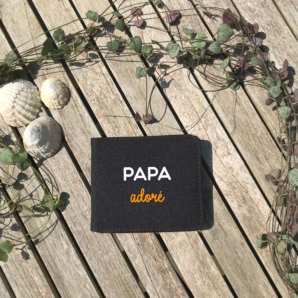 porte carte papa adoré