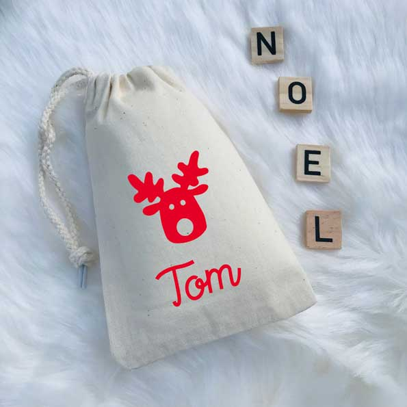Pochon Noël Cerf