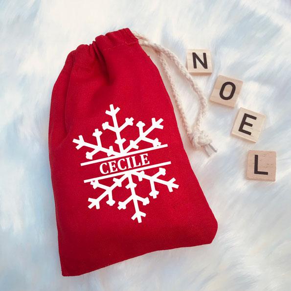 Pochon Noël Etoile